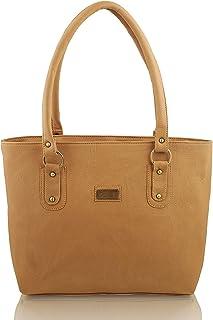 Bellina Women's Shoulder Bag (Bellina-312_Tan)