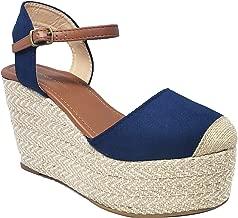 VICTORIA ADAMES Linda Wedge Espadrilles Shoes