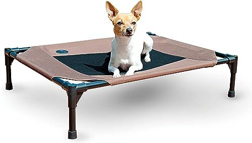 K&H Mascotas| Catre Elevado Original para Mascotas | Cama para Perros y Gatos | Mediano
