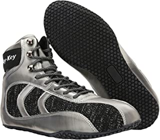 Boxing Boots Adult Kids Indoor Fighting Fitness Sneakers Reflective Breathable Non-Slip for Gym Squat Wrestling