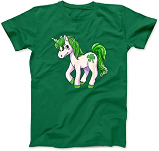 Mint Mama Irish Unicorn Ireland Shamrock St Patrick Day Kid Girls Gift T-Shirt