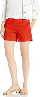 Nautica Womens 9300ZB Comfort Tailored Stretch Cotton Solid Short Casual Shorts