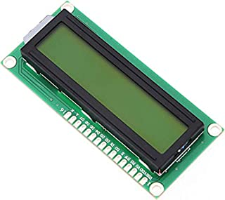 UG LAND INDIA Compatible 16x2 LCD Display  16x2 LCD Display Module   2 line Display Yellow Back Light