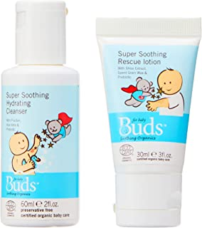 Buds Organics Buds Soothing Organics Eczema Mini Pack, 2 count