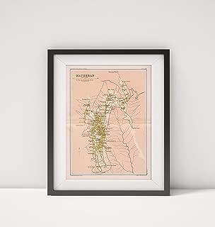 1893 Map of India|Matheran. Plate 55|Title: Matheran. Plate 55. The Edinburgh Geographical Institute