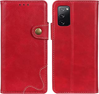 MOONCASE Case for Galaxy S20 FE 5G, Premium PU Leather Cover Wallet Pouch Flip Case Card Slots Magnetic Closure Mobile Pho...