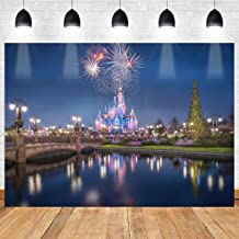 Cartoon Backdrop MEETSIOY 10x7ft Building Castle Photography Background Themed Party Photo Booth YouTube Backdrop LXMT083