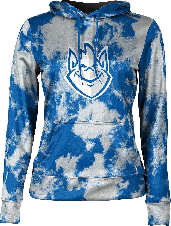 ProSphere Saint Louis University Girls' Pullover Hoodie, School Spirit Sweatshirt (Grunge)
