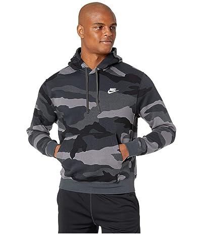 Nike NSW Club Hoodie Pullover Camo (Dark Grey/Anthracite/Summit White) Men