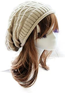 Lisli Unisex Fashion Hip-hop Hat Warm Knitted Crochet Slouchy Baggy Beanie Hat Cap