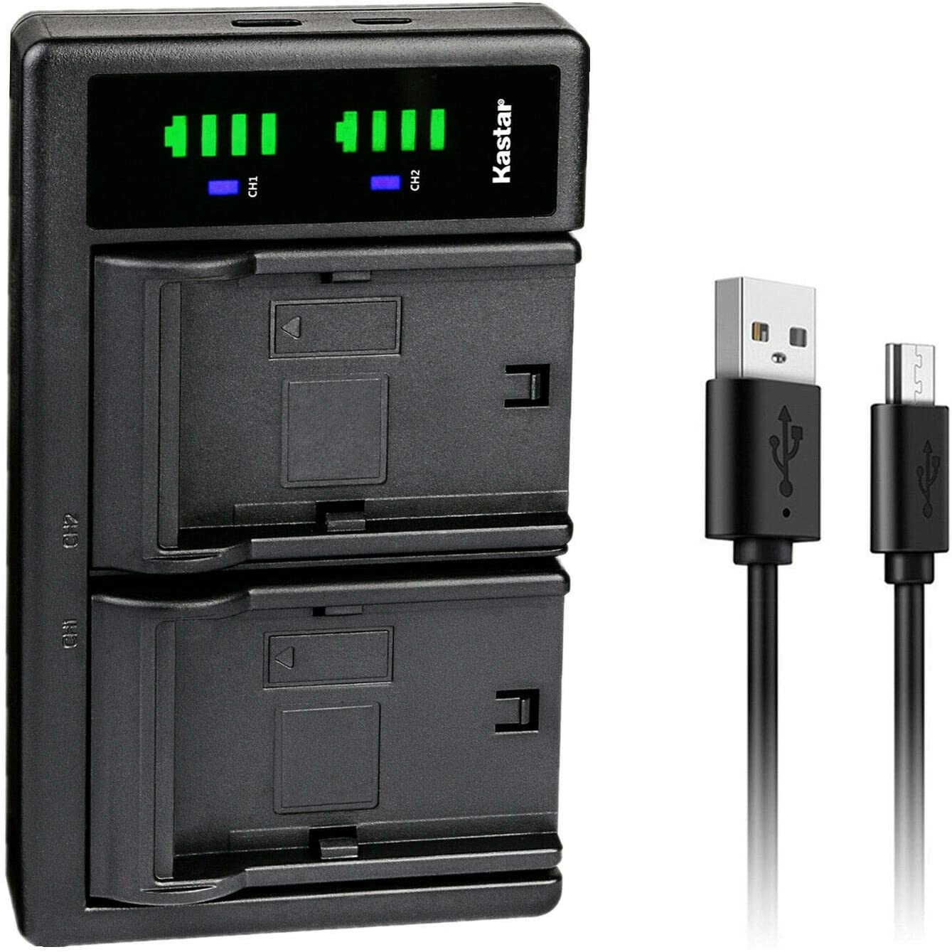 Kastar LTD2 USB Battery Charger Outstanding store LP-E10 LPE Replacement Canon for