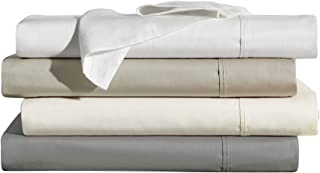 Brielle Home 400 Thread Count Ultra Soft 100% Cotton Sheet Set, King, White, 807000268610, 807000268610, 807000268610, 807...