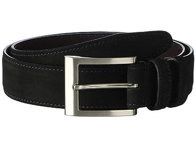 Allen Edmonds Wide Basic Dress Belt (Olive Suede) Men