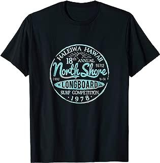 North Shore Long Board Surf T-shirt