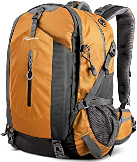 OutdoorMaster Hiking Backpack 50L - Travel Carry-On Backpack w/Waterproof Cover