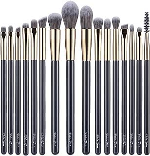 vela.yue Precision Makeup Brushes Set 16pcs Detail Powder Foundation Blusher Bronzer eyeliner Shadow Brow Lip Gloss Beauty Tool