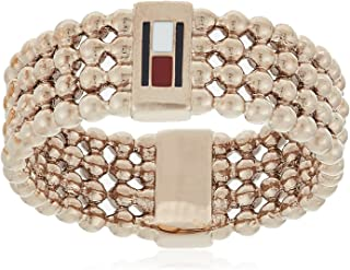 TOMMY HILFIGER WOMEN'S IONIC GOLD PLATED STEEL RINGS -2780098E