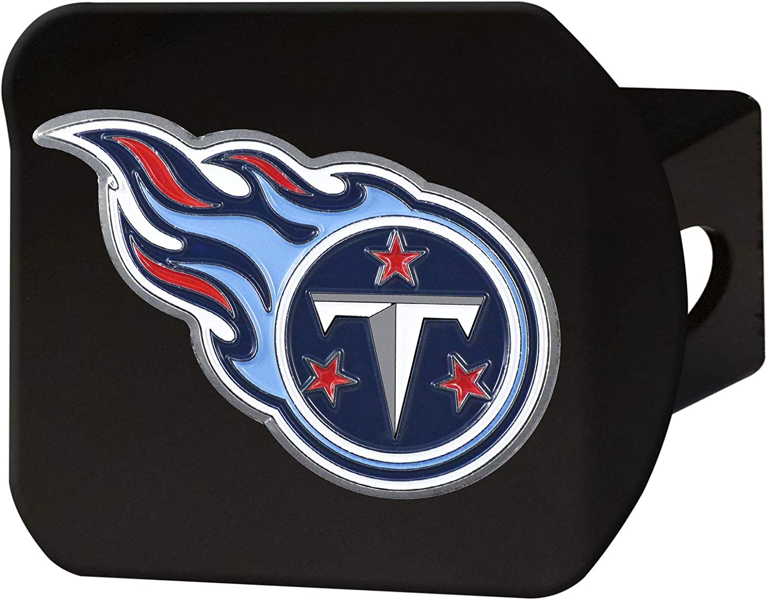 NFL Popular popular Tennessee Titans Metal Hitch New popularity Cover 2