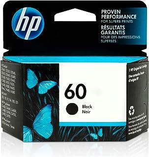 HP 60 | Ink Cartridge | Black | Works with HP DeskJet D2500 Series, F2430, F4200 Series, F4400 Series, HP ENVY 100, 110, 1...