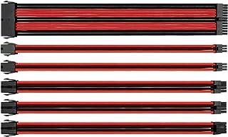 Thermaltake Sleeve Extension Power Supply Cable Kit, Cases, Blue Black (AC-035-CN1NAN-A1) black AC-033-CN1NAN-A1