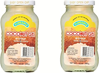 Florence Coconut Gel in Syrup 340g, 2 Pack