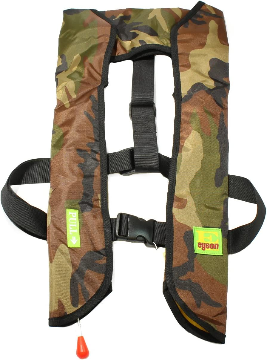 Top Safety Adult Life Jacket with Manual Version Whistle Infla - セール価格 大規模セール
