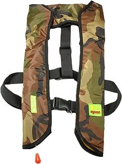 Lifesaving Pro Premium 33G Manual Inflatable PFD Survival Buoyancy Life Jacket Vest