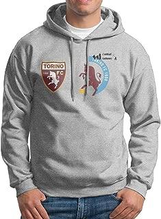 Mens Torino F.C. Logo Custom Retro 100% Cotton Hoodies