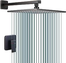 Oil Rubbed Bronze Shower Faucet GGStudy Single Function Shower Trim Kit with Rough-in Valve Shower Set Bath Rainfall Showe...