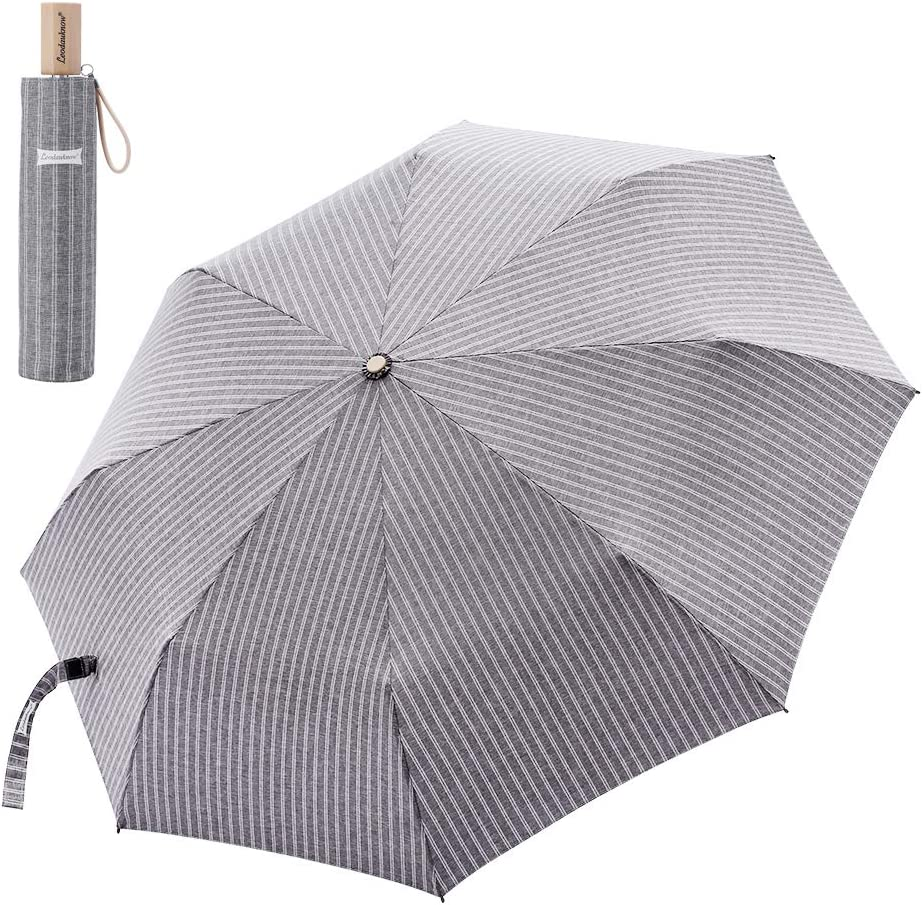 Leodauknow-Compact Max 56% OFF Directly managed store Travel Umbrella Windproof waterproof rein and