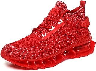 IGZNBBD Acreat Hardloopschoenen voor heren, gymschoenen, ademende sportschoenen, lichte loopschoenen, comfortabele fitness...