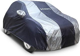 Amazon Brand - Solimo Hyundai i20/Elite i20 UV Protection & Dustproof Car Cover (Dark Blue & Silver)