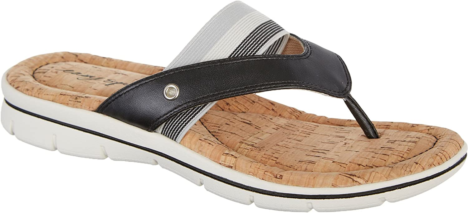 Easy Spirit Women's Nice Day Thong Sandals Casual