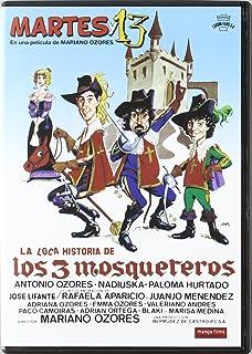 La Loca Historia De Los 3 Mosqueteros DVD 1983