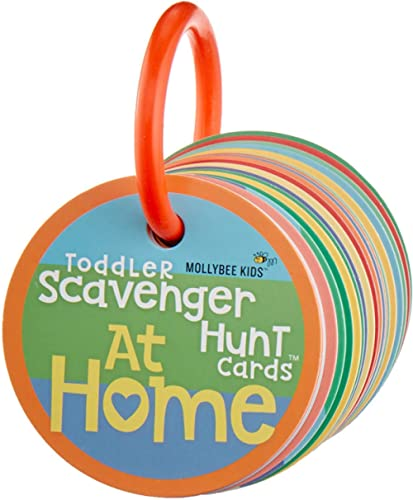 Toddler Scavenger Hunt Cards at Home - Interactive, Educational, and Mobile First Game Toy for Toddlers Boys Girls Ki...