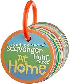 Toddler Scavenger Hunt Cooperative Card Game at Home