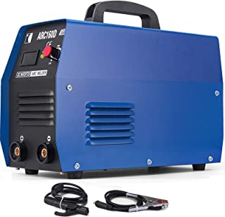 Mophorn Arc Welder 20-160Amp 110V 220V Dual Voltage MMA Arc Welding Machine Arc IGBT Digital Display LCD DC Inverter Welder Anti-Stick Electric Welder Machine Mini Inverter Welding Machine Portable