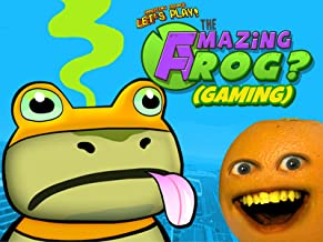 Clip: Annoying Orange Let's Play - The Amazing Frog? (Gaming)