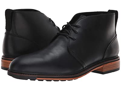 Bostonian Costigan Mid WP (Black Leather) Men