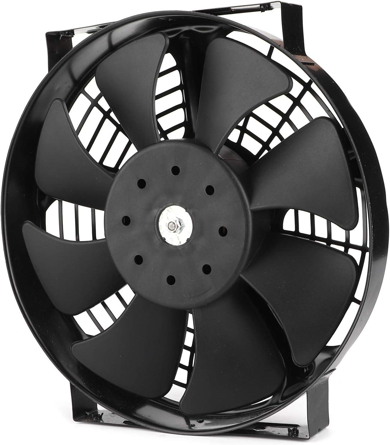 Ventilador del Motor, Ventilador eléctrico de la CA de la Fan del Aire Acondicionado del Coche Fan del Coche del refrigerador de 12 voltios para el Coche