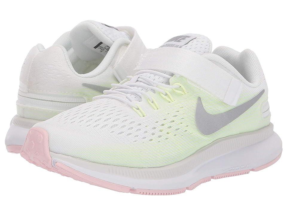 Nike Kids - Nike Kids Zoom Pegasus 34 FlyEase WIDE , White