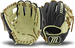 Marucci MFGRS11I-BK/MS-LH RS225 Series Baseball Fielding Gloves, Black/Mesa, 11