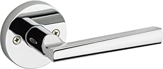 Kwikset 91540-014 Montreal Round Hall/Closet Lever, Polished Chrome