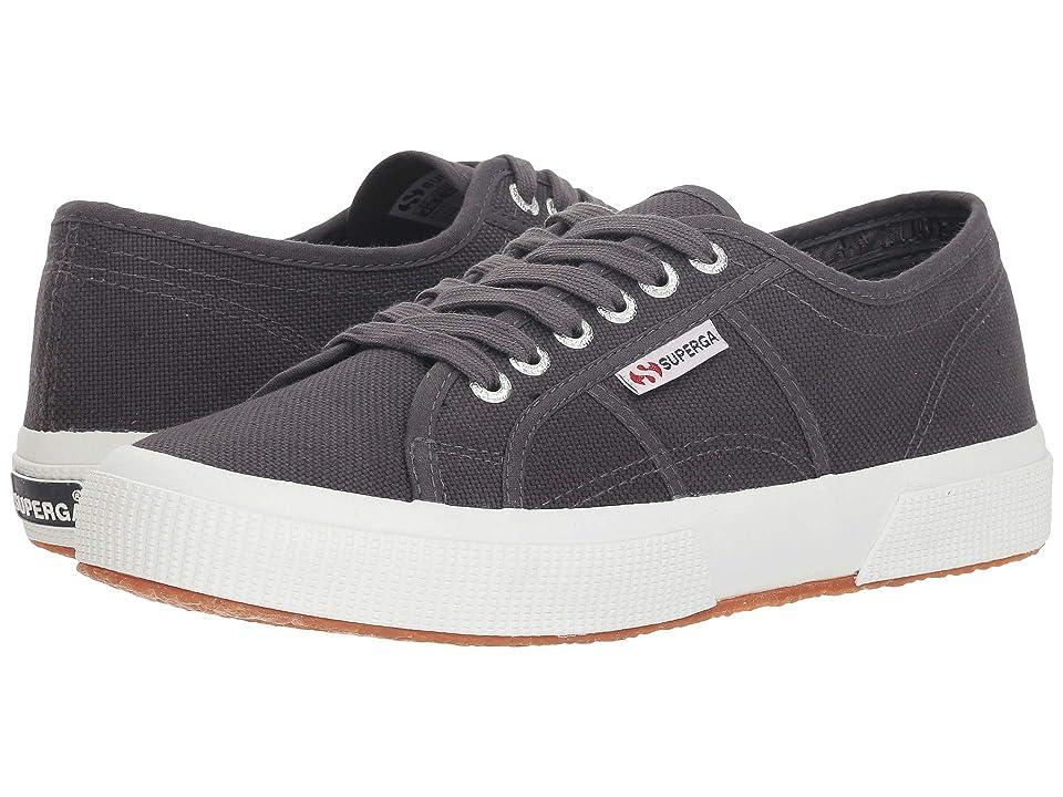 Superga 2750 COTU Classic Sneaker (Dark Grey) Lace up casual Shoes