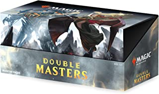 Magic: The Gathering Double Masters Draft Booster Box | 24 Packs (360 Cards) | 2 Box Toppers