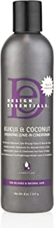 Design Essentials Natural Kukui & Coconut Hydrating Leave-In Conditioner For Relaxed And Natural Hair - 8 Oz