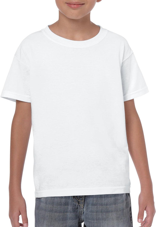 Gildan Kids' Heavy Cotton Youth T-Shirt: Clothing