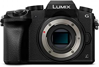 Panasonic Lumix DMC-G7 Mirrorless Micro Four Thirds Digital Camera (Black Body Only) - International Version (No Warranty)
