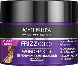 John Frieda Frizz Ease Wunder-Kur - Tiefenwirksame Haarkur - Inhalt: 250ml - Für widerspenstiges Haar - Intensiv-Reparatur...