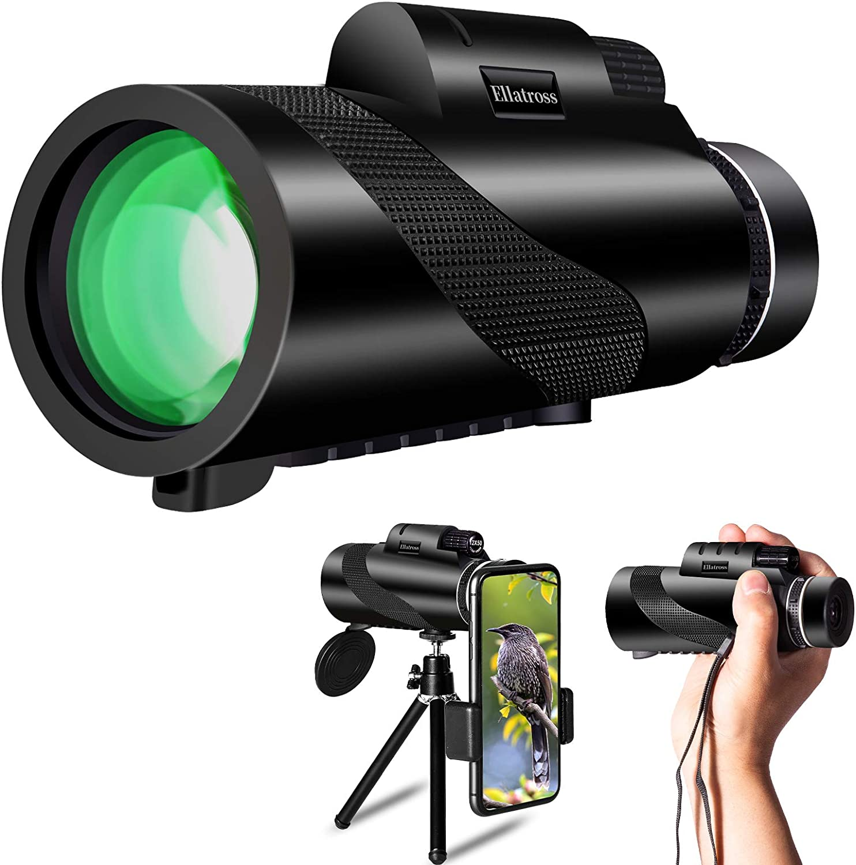 Ellatross New color Monocular Telescope Smartphone Handheld cheap for